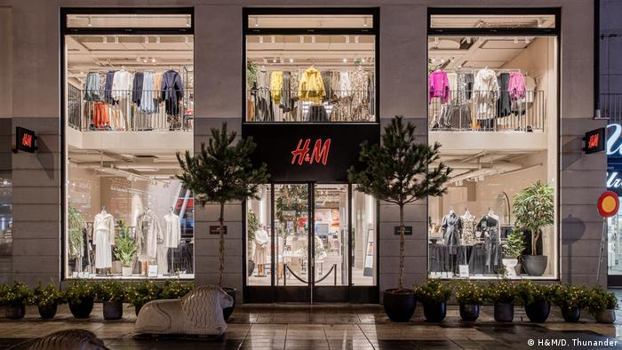 H&M's flagship store in Stockholm