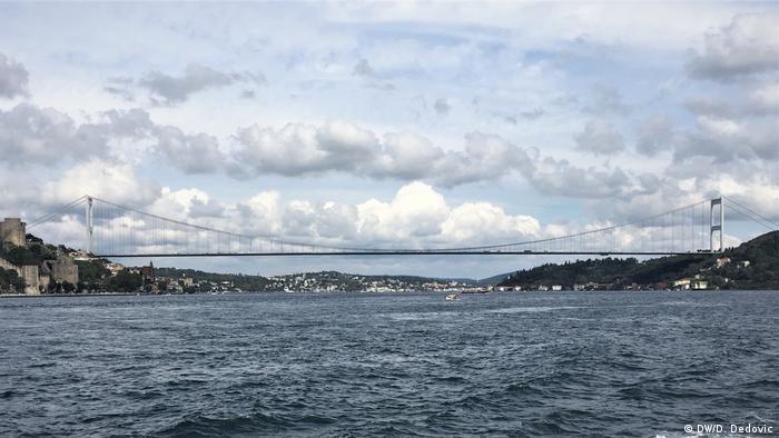 Türkei Istanbul   Fatih-Sultan-Mehmet-Brücke