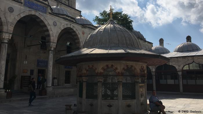 Dvorište Džamije Mehmed paše Sokolovića