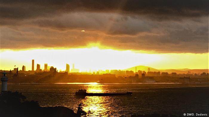 Zalazk sunca u Istanbulu