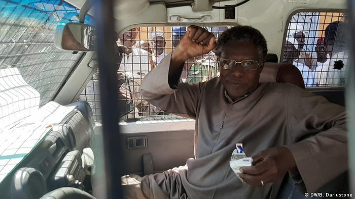 Mahamat nour Ahmat Ibedou, secrétaire général de la Convention tchadienne de défense des droits de l'homme