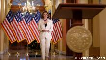 USA Nancy Pelosi zu Impeachmentverfahren (Reuters/E. Scott)