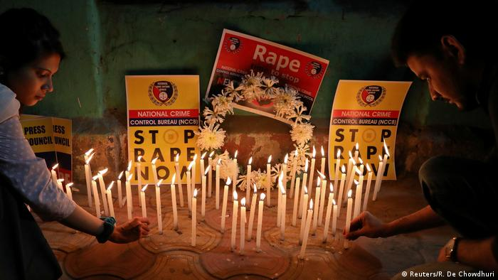 Indien l Proteste gegen Vergewaltigungen (Reuters/R. De Chowdhuri)