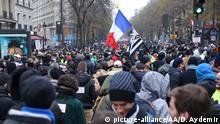 Frankreich | Streik gegen Rentenreformen