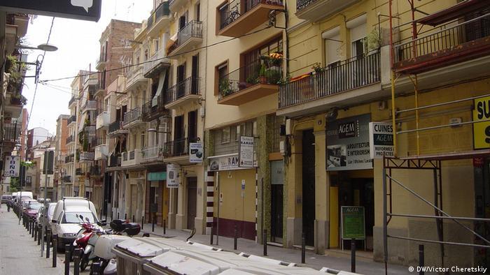 Ulica u Barceloni
