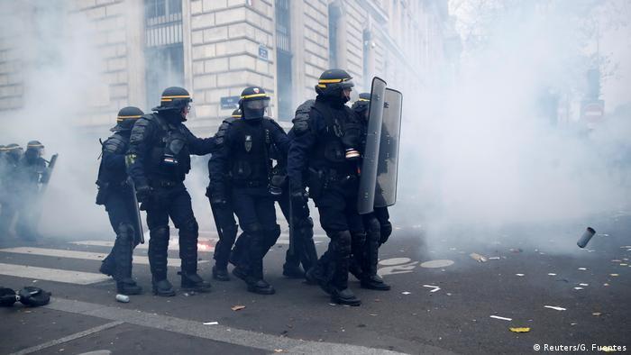 Frankreich Paris Generalstreik