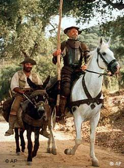 Don Quijote y Sancho Panza, en la versión de TNT
