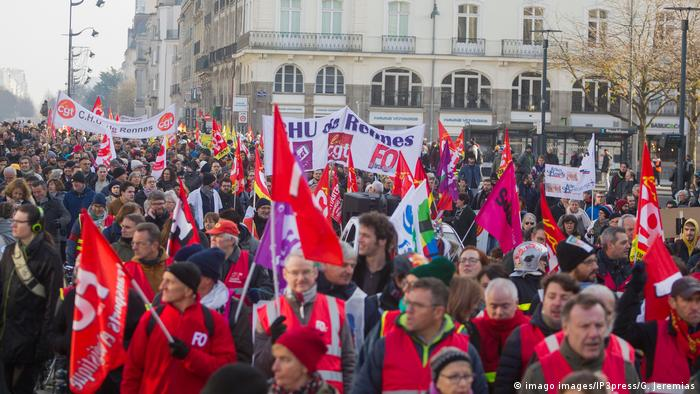 Frankreich Protest (imago images/IP3press/G. Jeremias)