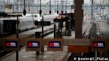 Frankreich Lyon | Kein Zugverkehr wegen Streik