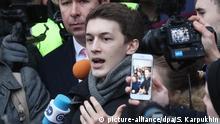 Russland | Student Yegor Zhukov verurteilt