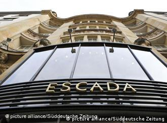 Escada flagship store in Munich