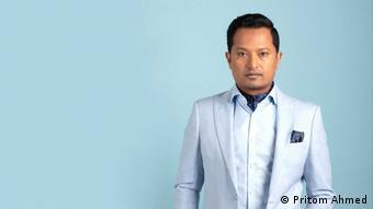 Bangladesch   Sänger Pritom Ahmed