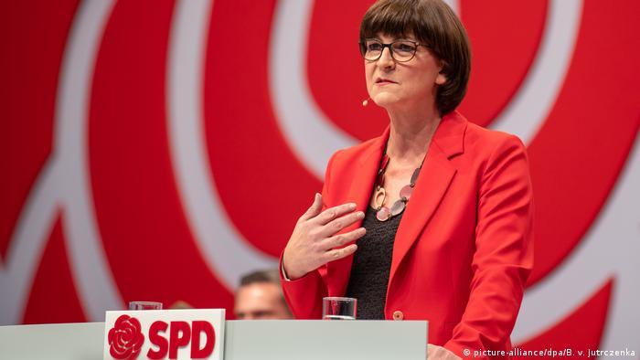 Saskia Esken pledează pentru retragerea militarilor Bundeswehr din Irak