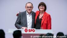 SPD-Bundesparteitag - Saskia Esken Walter-Borjans