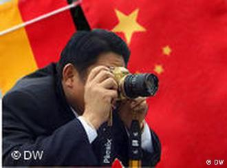 Chinesische Industriespionage in Deutschland DW Montage Florian Meyer