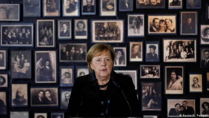 Angela Merkel und Mateusz Morawiecki Auschwitz-Birkenau (Reuter/K. Pempel)