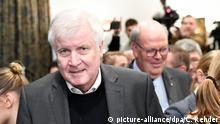 Lübeck | Innenministerkonferenz- Horst Seehofer