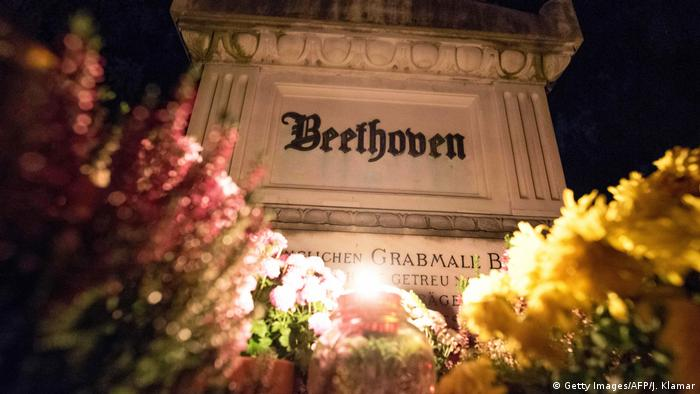 Beethoven's Tomb at the Vienna Central Cemetery (Getty Images/AFP/J. Klamar)