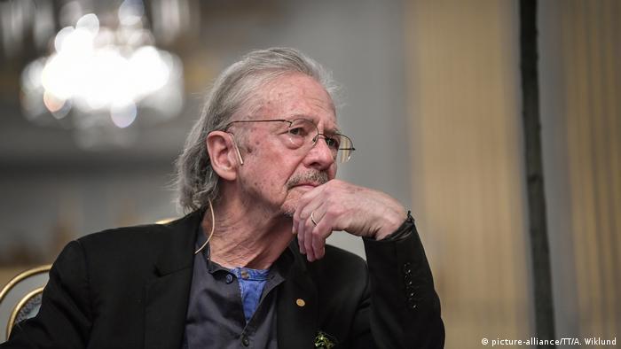 Лауреат Нобелівської премії з літератури Петер Гандке