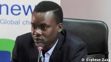Der zentralafrikanische Blogger Rosmon Zoukoue