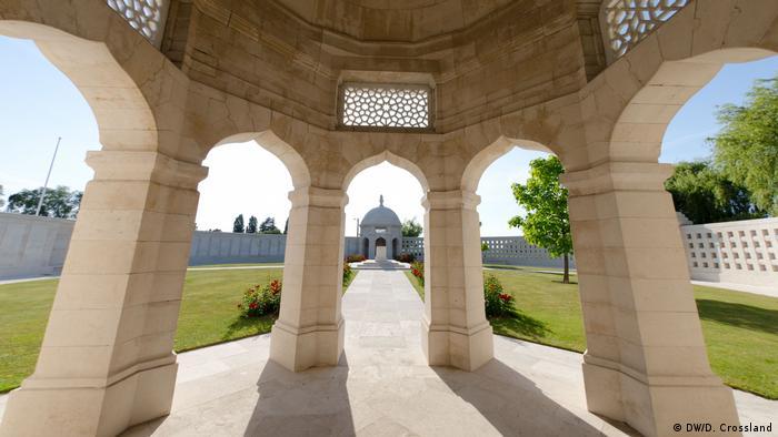 The Neuve-Chapelle Memorial in Ypres, Belgium