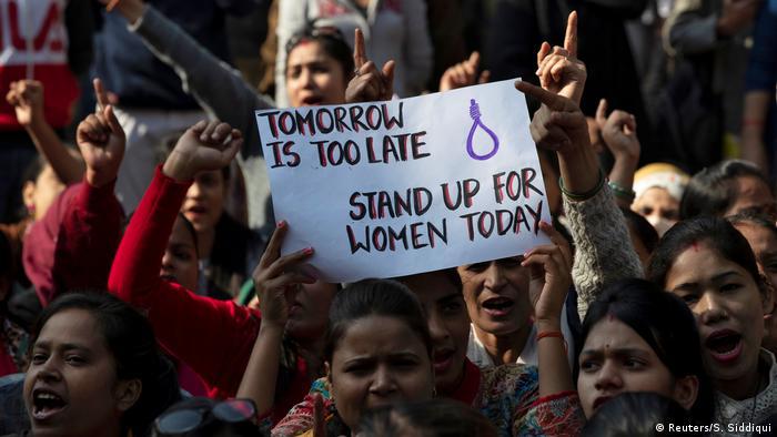 Anti-rape protest in India