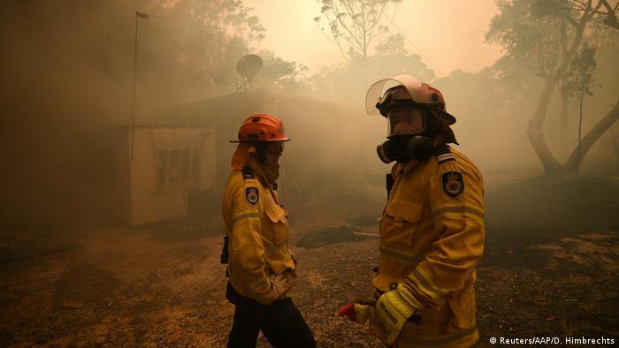 Australien Waldbrände | in Kulnura