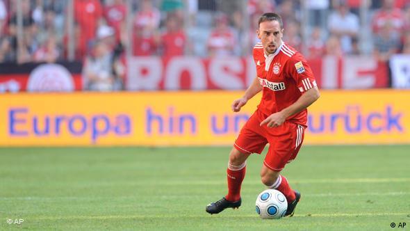 Ribéry na terenu
