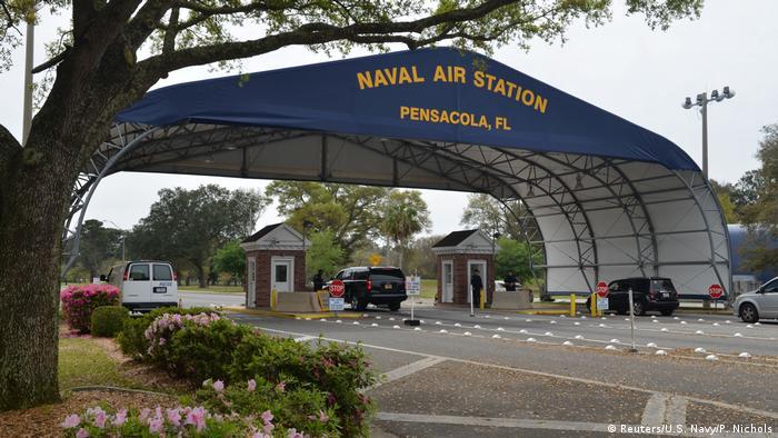 USA Eingang zur Marine-Flugstation Pensacola (Reuters/U.S. Navy/P. Nichols)