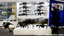 Frankreich 2018 | Waffenmesse Villepinte, Paris | Waffen aus Serbien