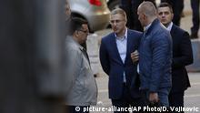 Serbien Belgrad   Nebojsa Stefanovic, Innenminister