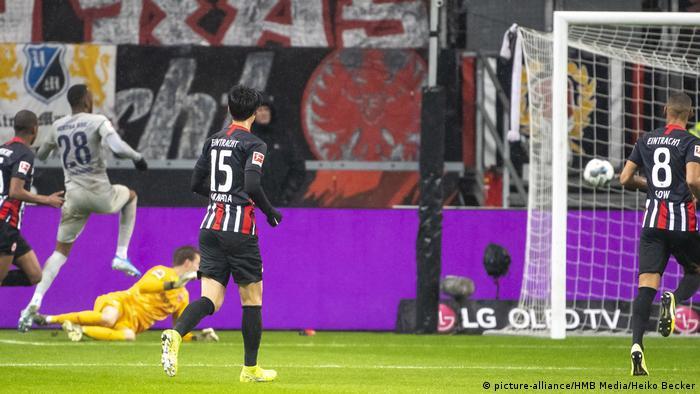 Fußball Bundesliga 14. Spieltag | Eintracht Frankfurt vs. Hertha BSC | TOR Hertha