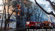 Ukraine Odessa | Brand in Schule