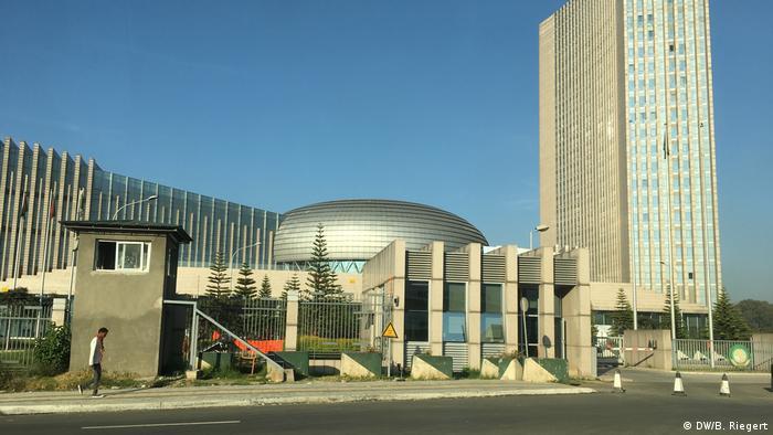 Sitz der Afrikanischen Union in Addis Abeba, Äthiopien.
