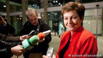 Kristalina Georgieva (21.01.2010) (Foto: picture-alliance/dpa)