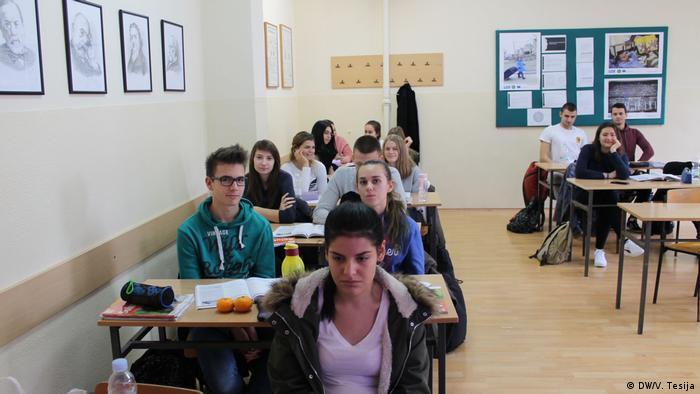 Medizinschule in Osijek/Kroatien