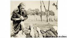 Das historische Bild der jungen Polin Kazimiera Mika (Julien Bryan Archive)