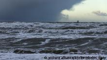 Unwetterfront über der Ostsee, storm front over the Baltic Sea