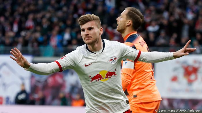 Bundesliga RB Leipzig gegen TSG Hoffenheim (Getty Images/AFP/O. Andersen )