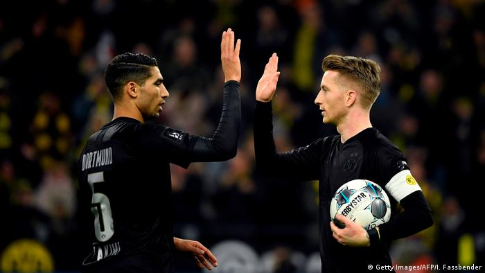 Fußball Bundesliga Borussia Dortmund - Fortuna Düsseldorf (Getty Images/AFP/I. Fassbender)