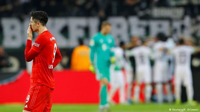 1. Bundesliga | Borussia Mönchengladbach vs Bayern München | Torjubel (2:1) (Reuters/R. Orlowski)