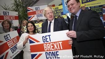 W kampanii wyborczej Boris Johnson obiecywał szybki brexit