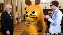 Deutschland Steinmeier verleiht «Mausverdienstorden»