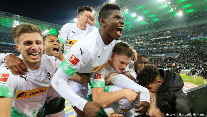 Borussia Mönchengladbach: back for good after Bayern comeback | Sports|  German football and major international sports news | DW | 07.12.2019