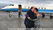 Gefangenenaustausch USA und Iran Edward McMullen und Xiyue Wang