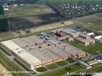 The uranium enrichment facility in Gronau