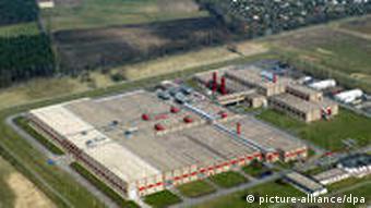 Urananreicherungsanlage der Urenco Deutschland GmbH in Gronau (Foto: dpa)
