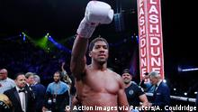 Boxen IBF, WBA, WBO & IBO World Heavyweight Titel | Anthony Joshua Sieger (Action Images via Reuters/A. Couldridge)