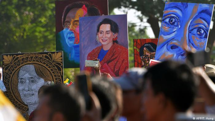 Myanmar's Aung San Suu Kyi in The Hague to defend the country's military