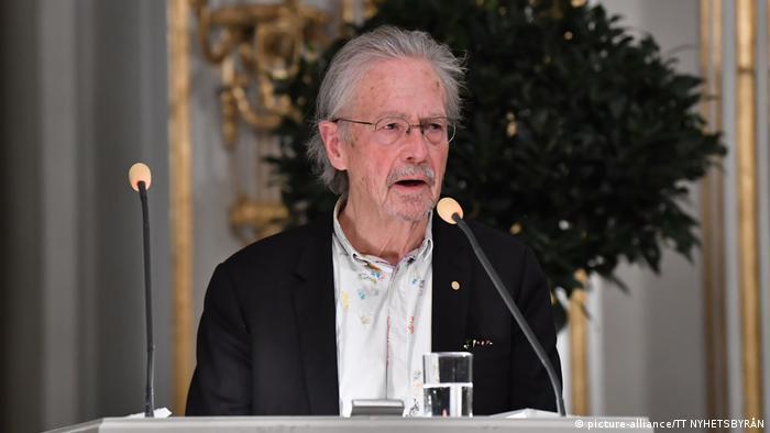 Peter Handke Stockholm Nobel-Lesung